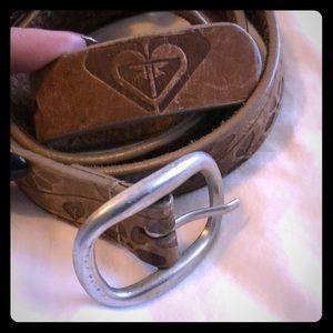 Roxy vintage leather belt
